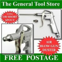 AIR DUSTER TRIGGER BLOW GUN.  LONG NEEDLE AND SHORT NOZZLE USE WITH COMPRESSOR